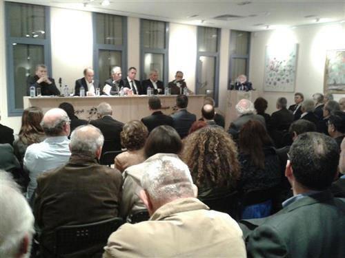 Πολιτική συζήτηση αρχηγών των Κοινοβουλευτικών Κομμάτων, με θέμα: H ανάγκη ή όχι επαναπροσδιορισμού της μορφής και του περιεχομένου λύσης του Κυπριακού